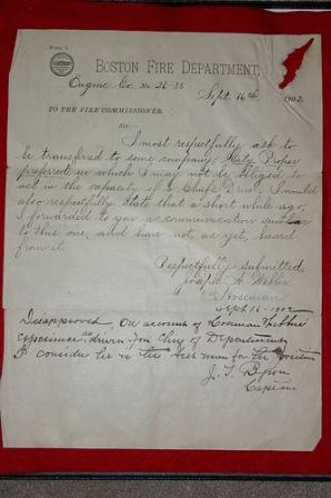 1902 Transfer Request